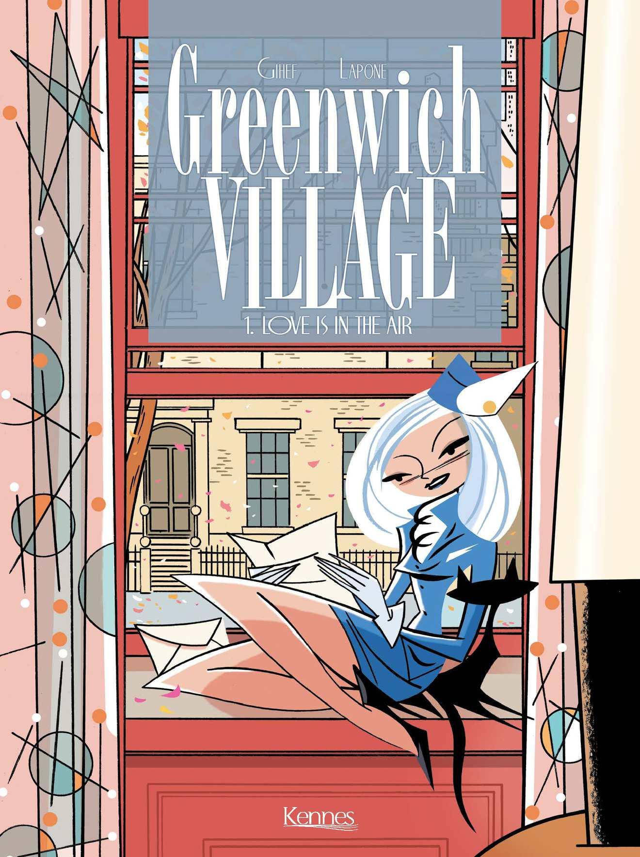 Greenwich Village - Gihef - Antonio Lapone - Couverture