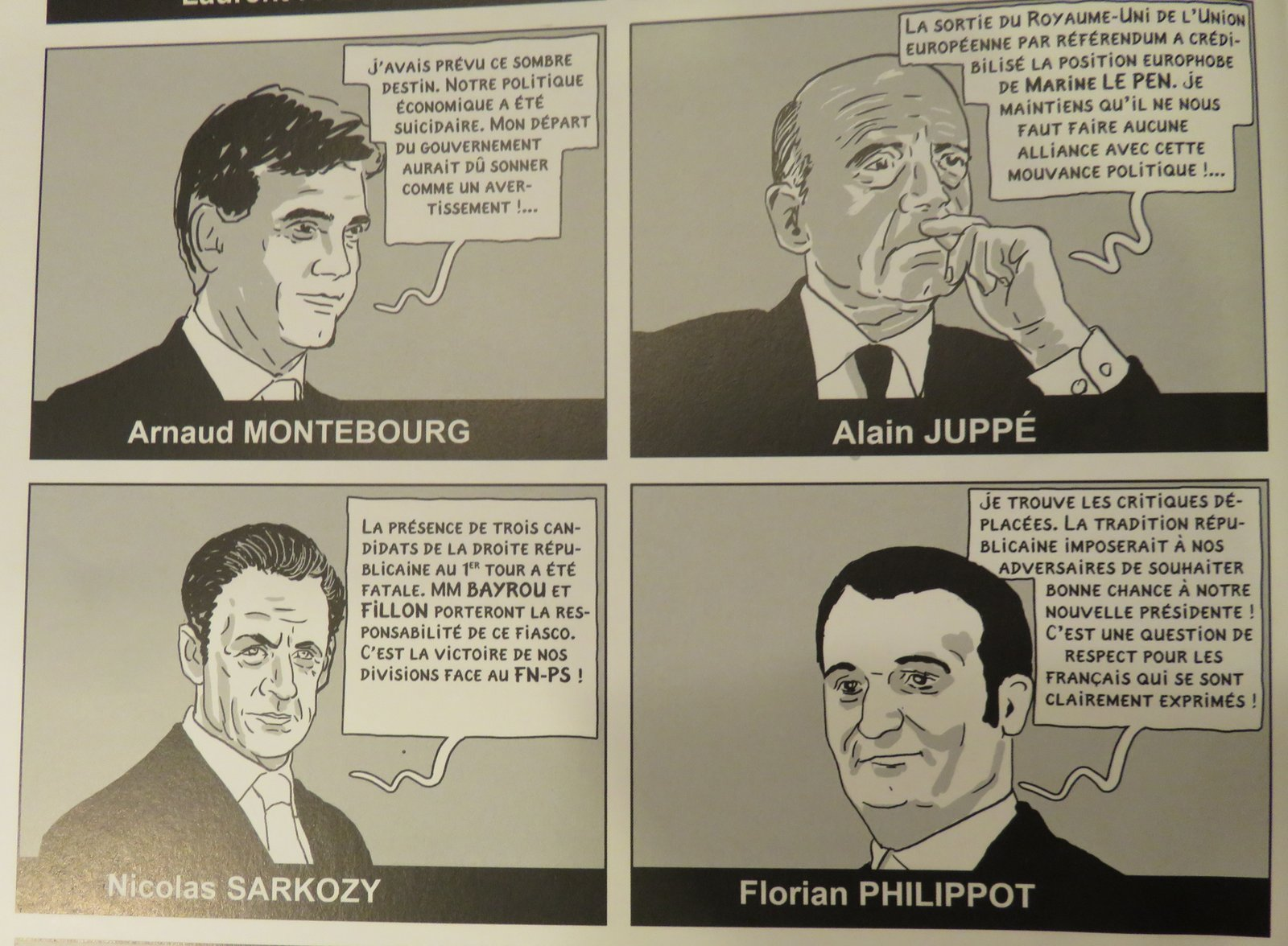 La présidente - Boudjellal - Durpaire - Réactions politiciens