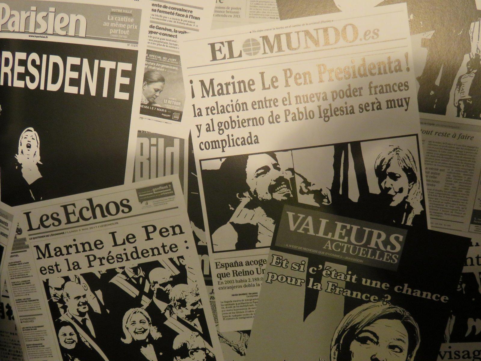 La présidente - Boudjellal - Durpaire - Unes journaux