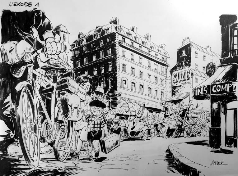 Dorison - Nury - Astier - Comment faire forune en juin 40 - quitter Paris