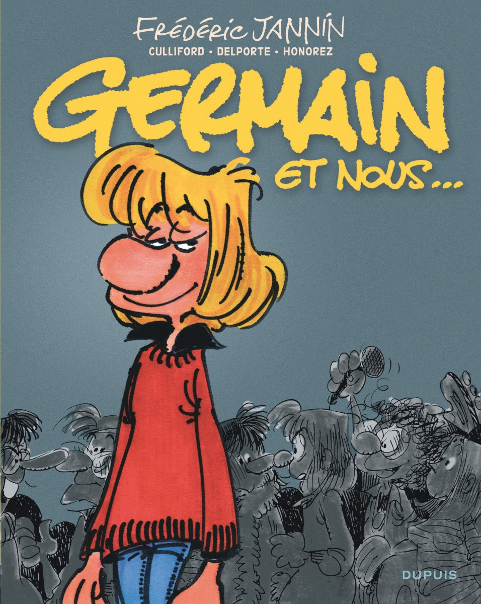Fred Jannin - Germain et nous - Intégrale - Couverture