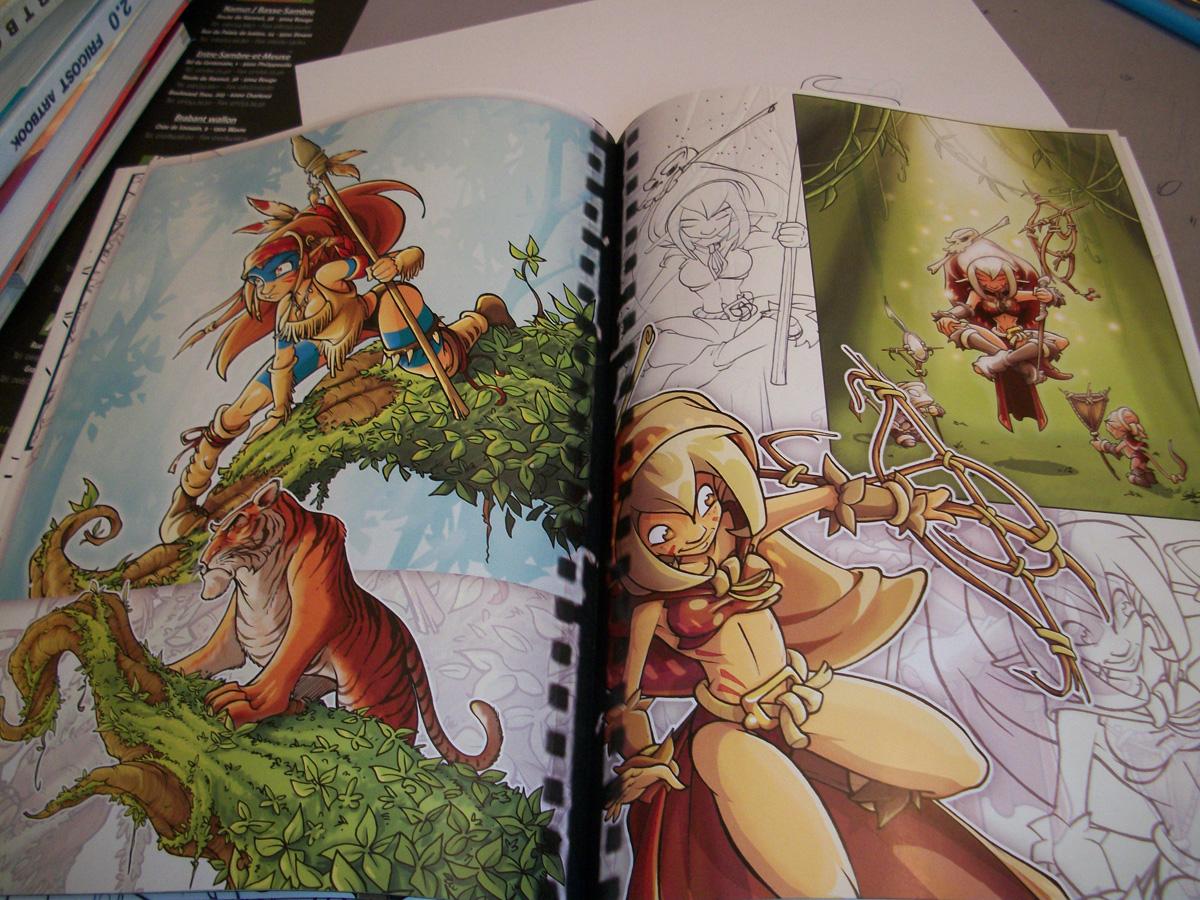 Gao - Sketchbook - La grande Ourse (1)