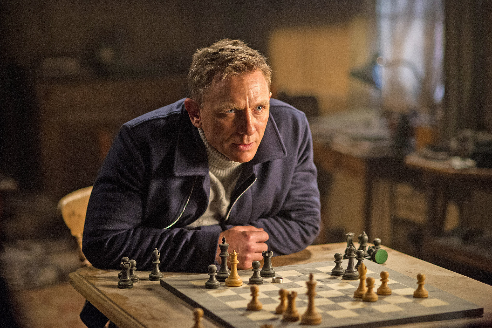 James Bond - 007 Spectre - échecs