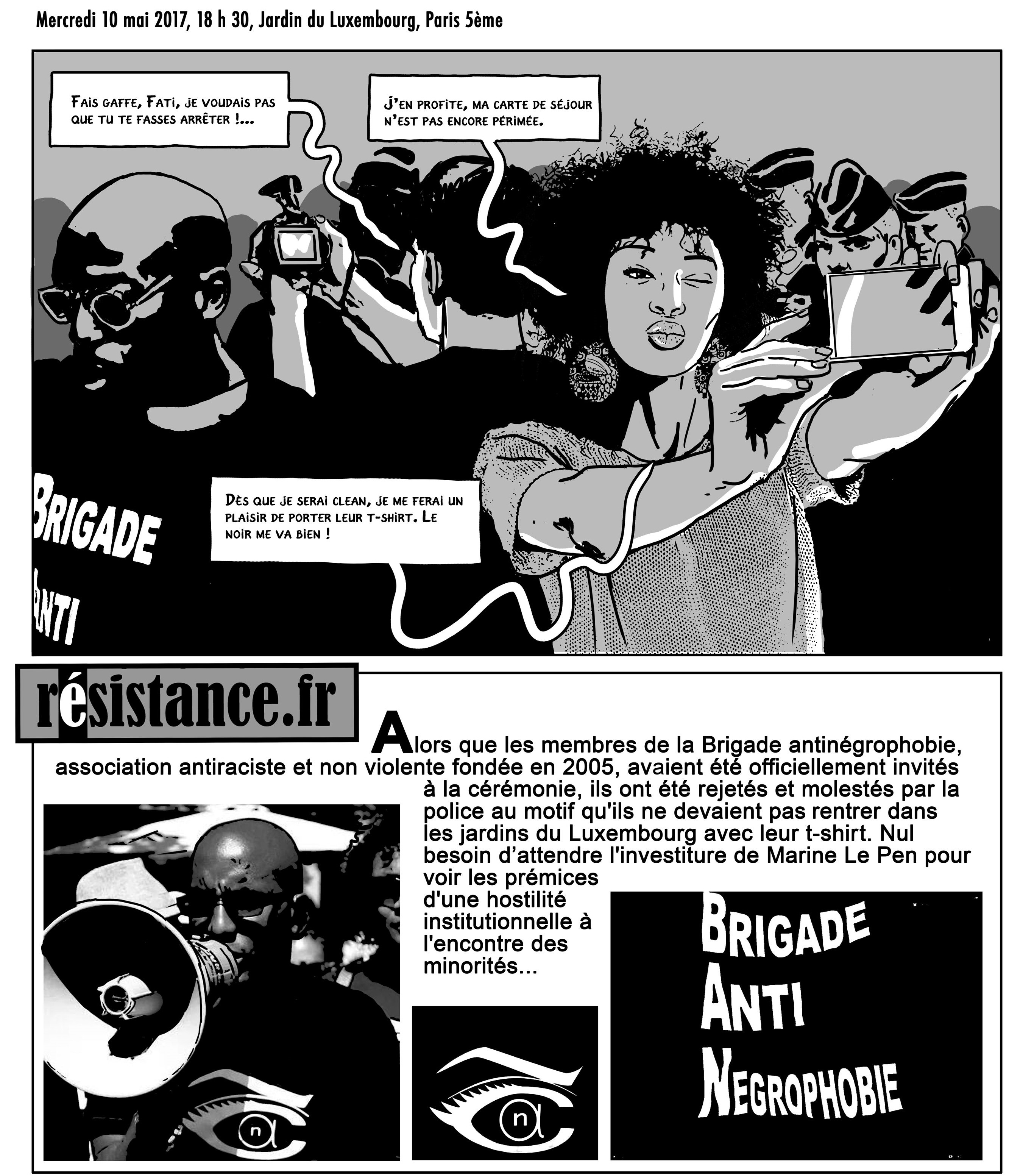 La présidente - Durpaire - Boudjellal - résistance