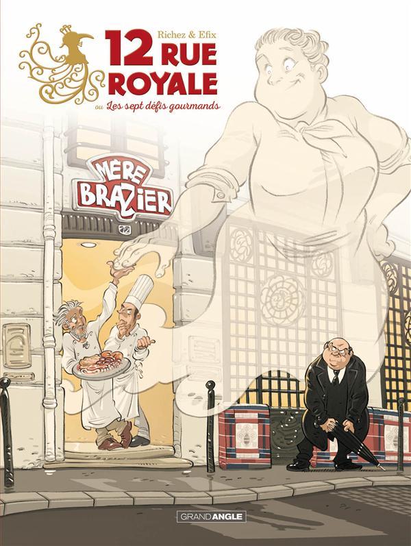 12 rue royale - Hervé Richez - Efix - couverture