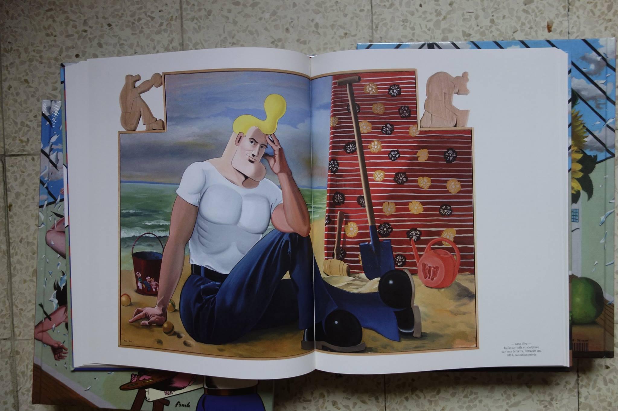Cowboy Henk - L'art actuel - Herr Seele - Kamagurka - Plage