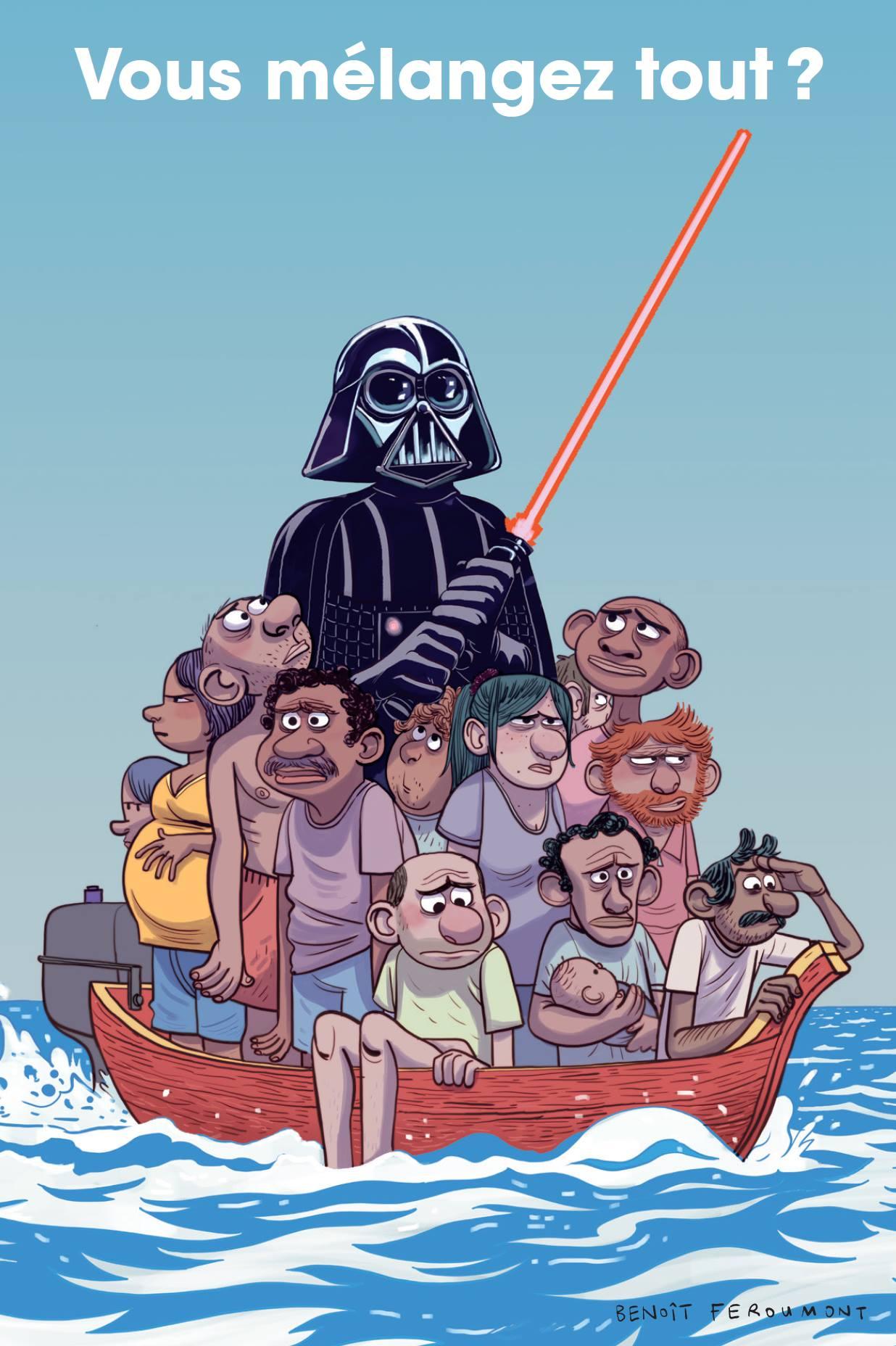 Groom - Spirou - Dupuis - Teaser - Migrants - Star Wars