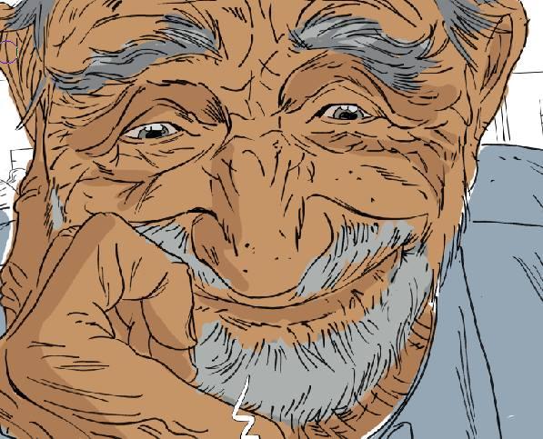 Jim - De beaux moments - vieillard