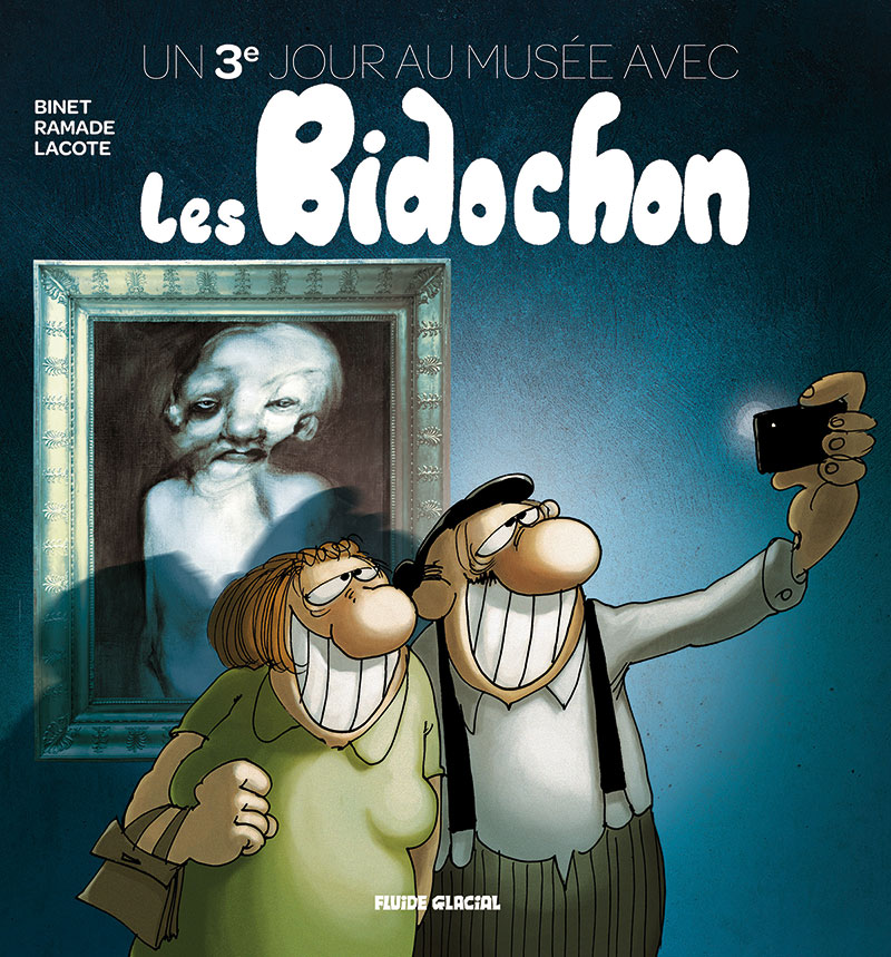 Un 3eme jour au musée avec les bidochon - Binet - Ramade - Lacôte - Couverture