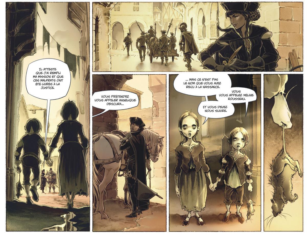 Arthus Trivium - tome 1 - Raule - Landa - fantomes enfants