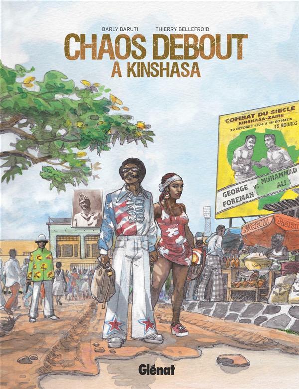 Bellefroid - Baruti - Chaos debout à Kinshasa - Couverture