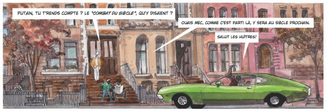 Bellefroid - Baruti - Chaos debout à Kinshasa - Harlem annees 70