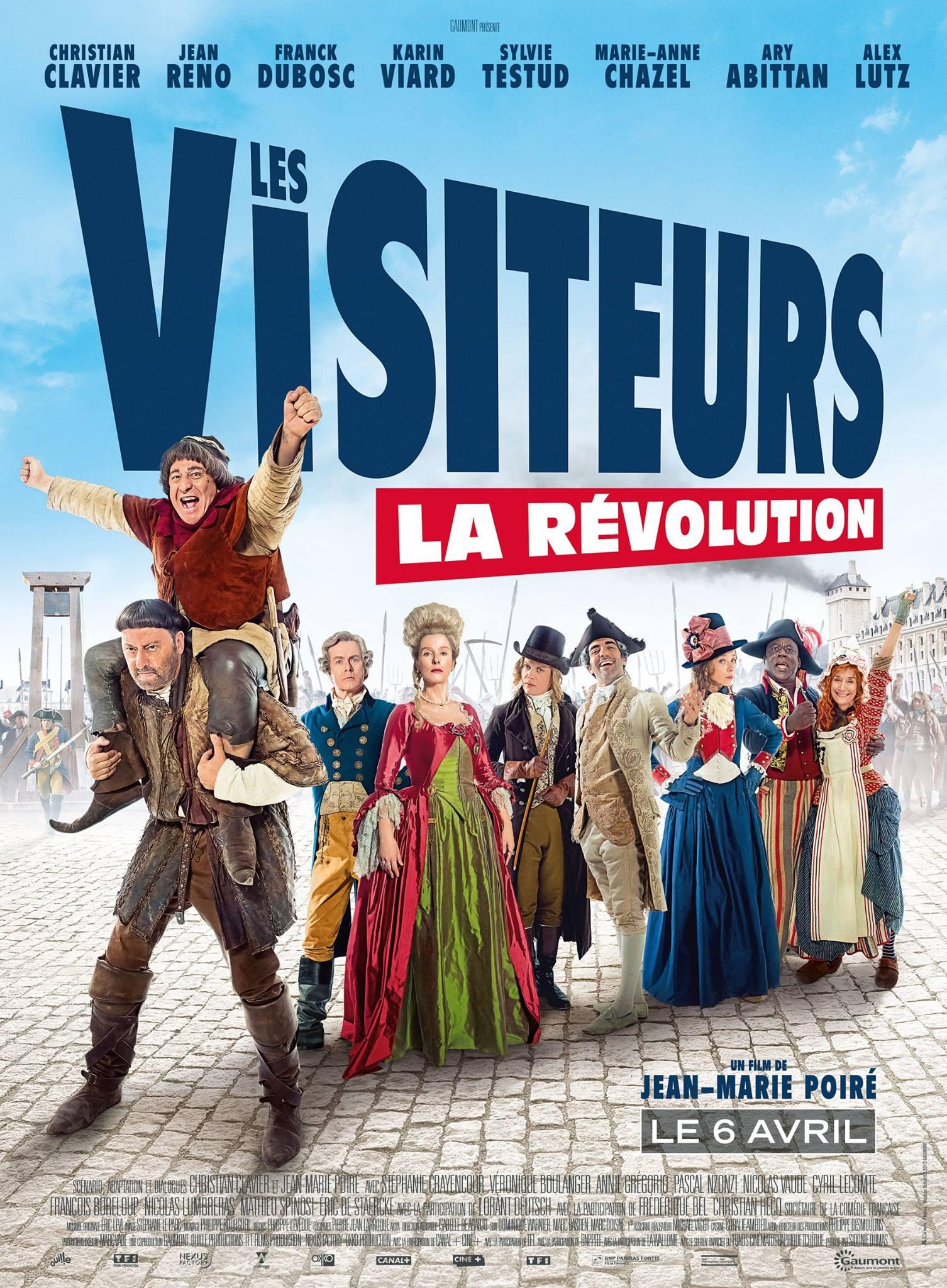 Les visiteurs - La révolution - affiche