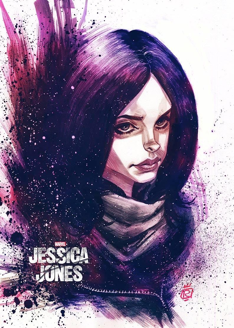 Mathieu Reynes - Harmony - FanArt Jessica Jones