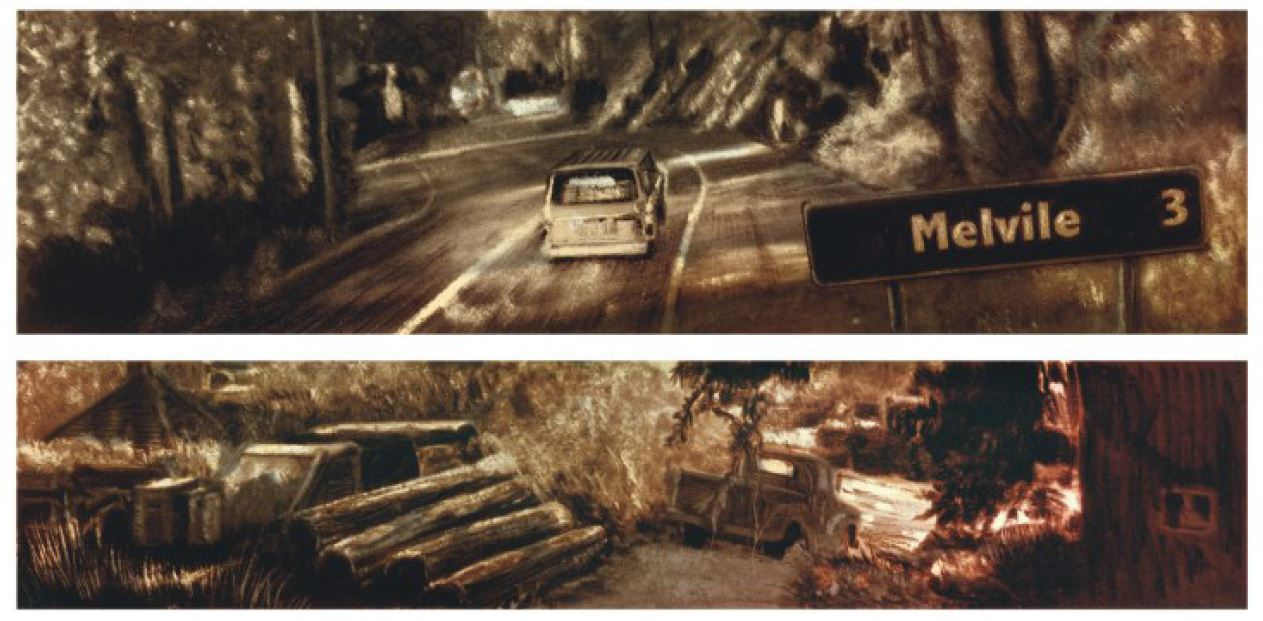 Romain Renard - Melville - T.2 Saul Miller - route de Melville
