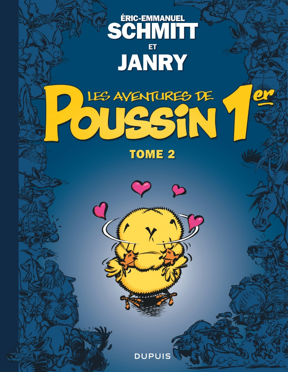 Schmitt - Janry - Poussin 1er - tome 2 couverture