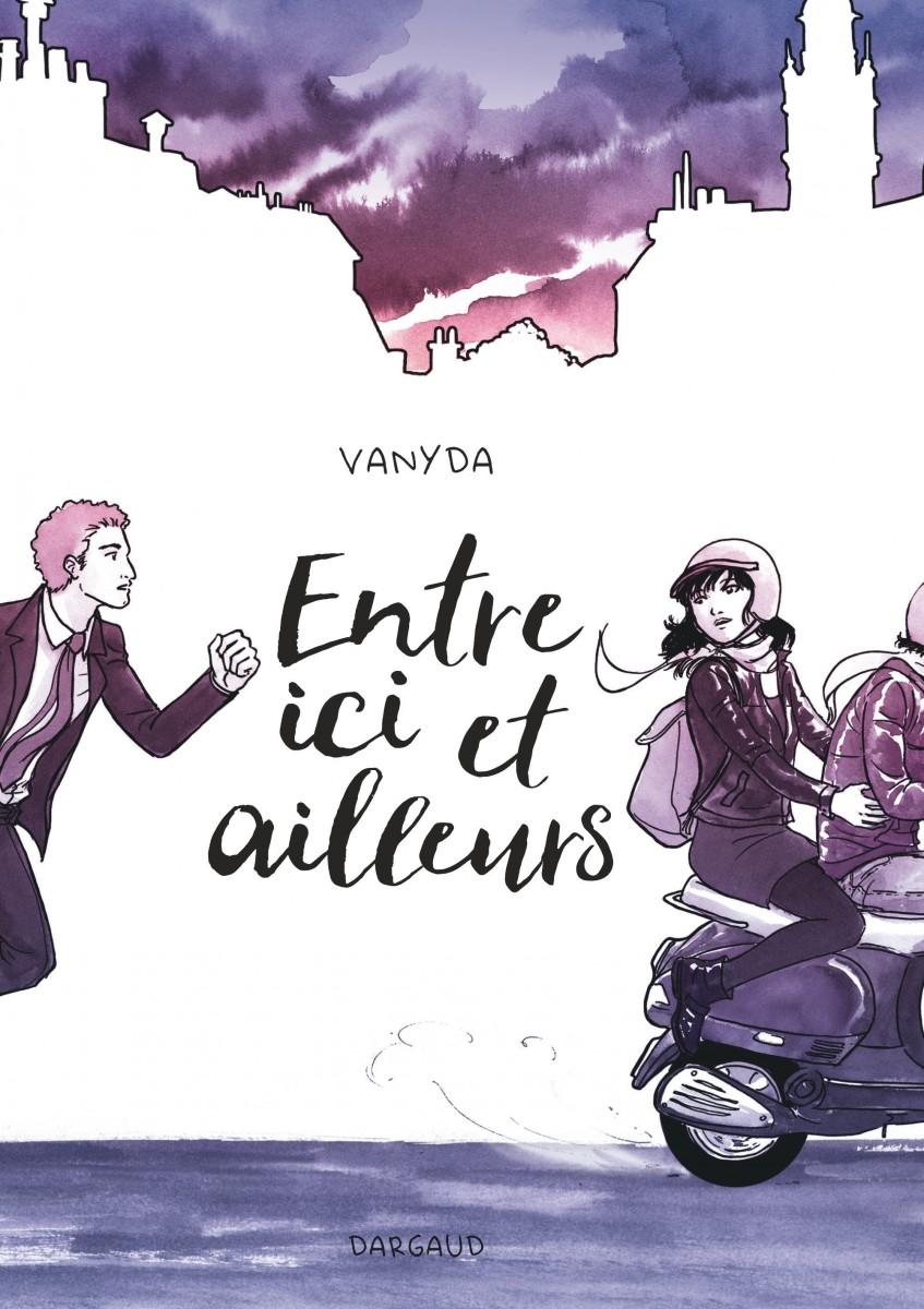 Vanyda - entre ici et ailleurs- Dargaud - couverture