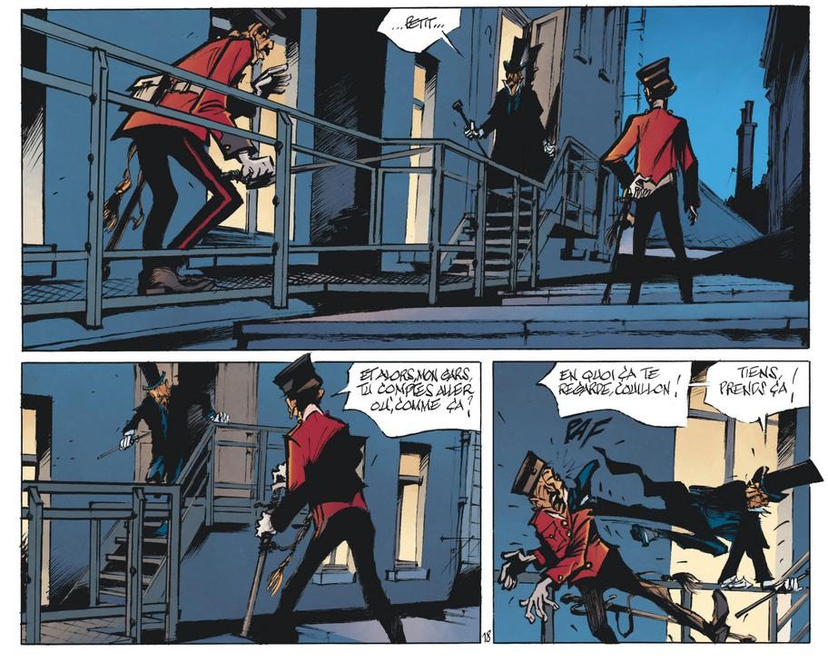 Benn - Le Magicien de Whitechapel - Tome 3 - Planche (18)