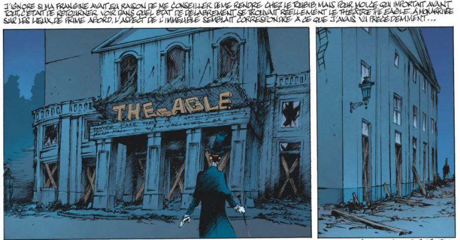 Benn - Le Magicien de Whitechapel - Tome 3 - theatre desaffecte