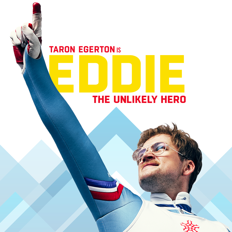 Eddie the eagle - Taron Edgerton - Eddie Edwards