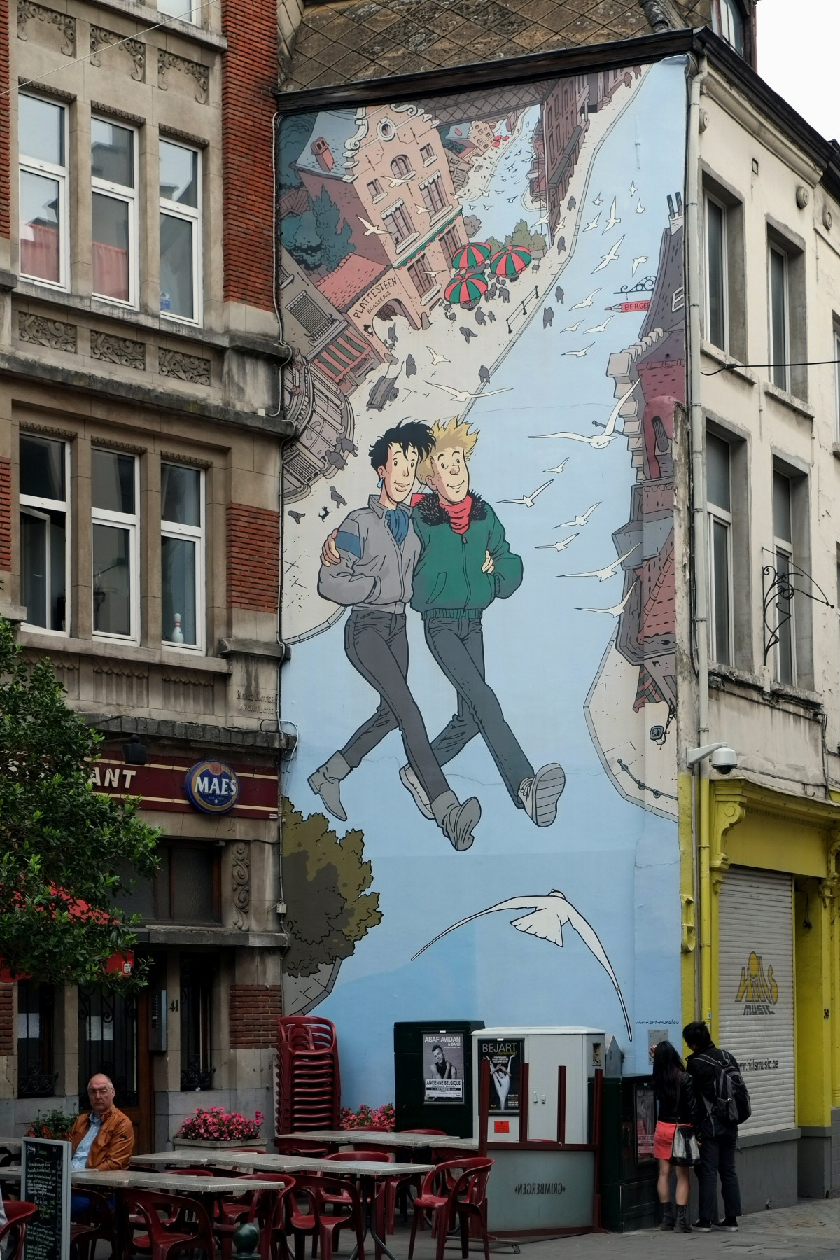 Frank Pe - Broussaille - fresque