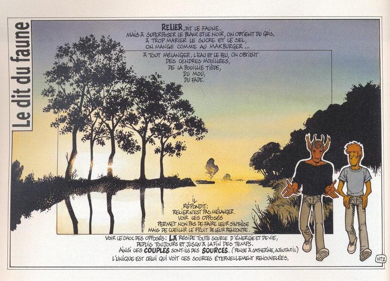 Frank Pe - Journal de Spirou - Le faune