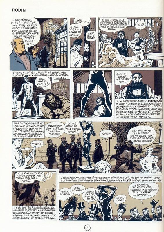 Frank Pe - Les merveilleuses histoires de l'oncle Paul - Rodin