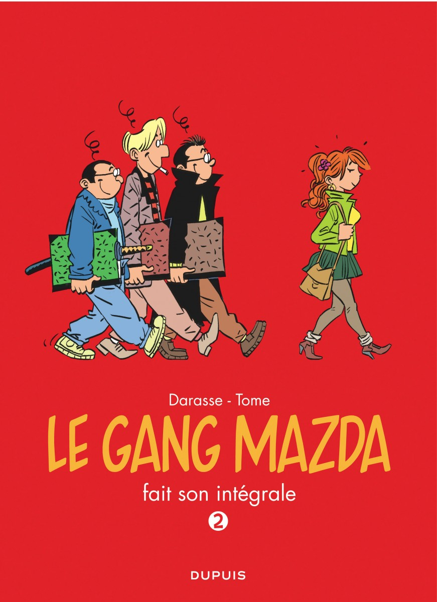 Le Gang Mazda - Integrale - Tome - Darasse - Couverture