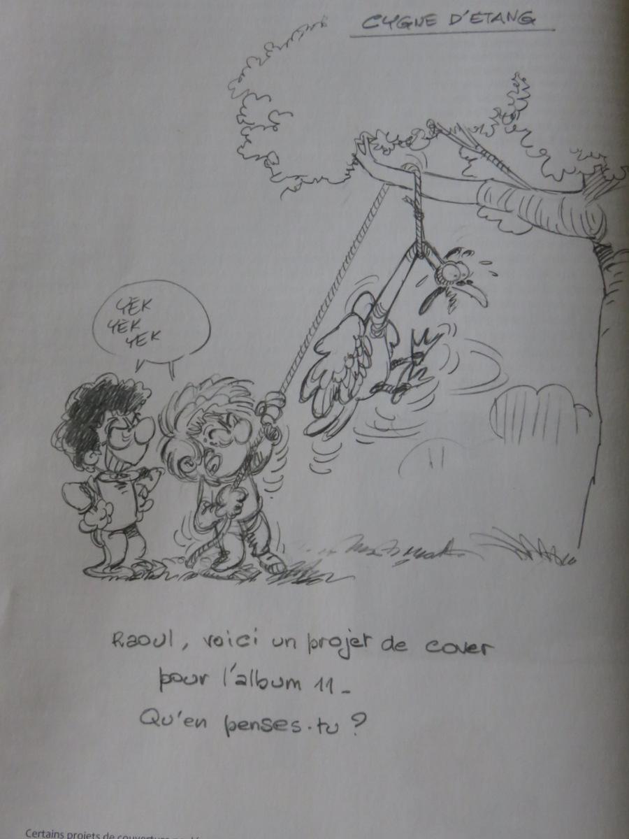 Cedric - anniversaire - tome 30 - Sillence je tourne - Cauvin - Laudec - couverture trash