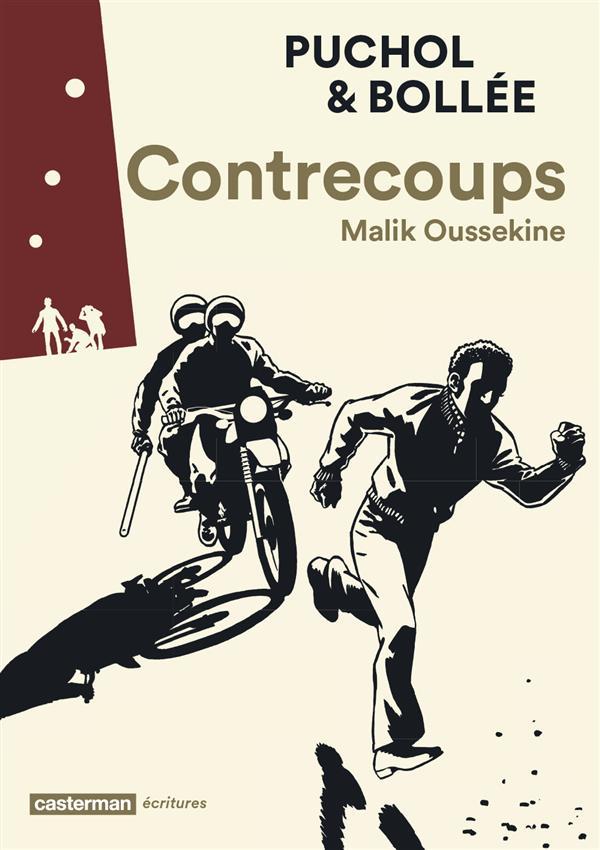 Contrecoups - BD - Malik Oussekine - Bollee - Puchol - Couverture