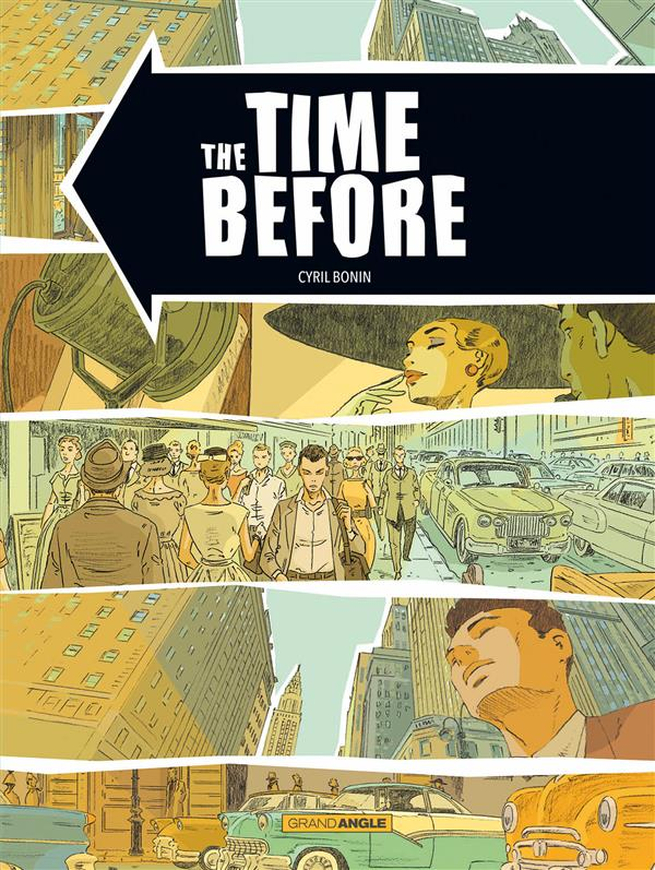 Cyril Bonin - The time before - Couverture