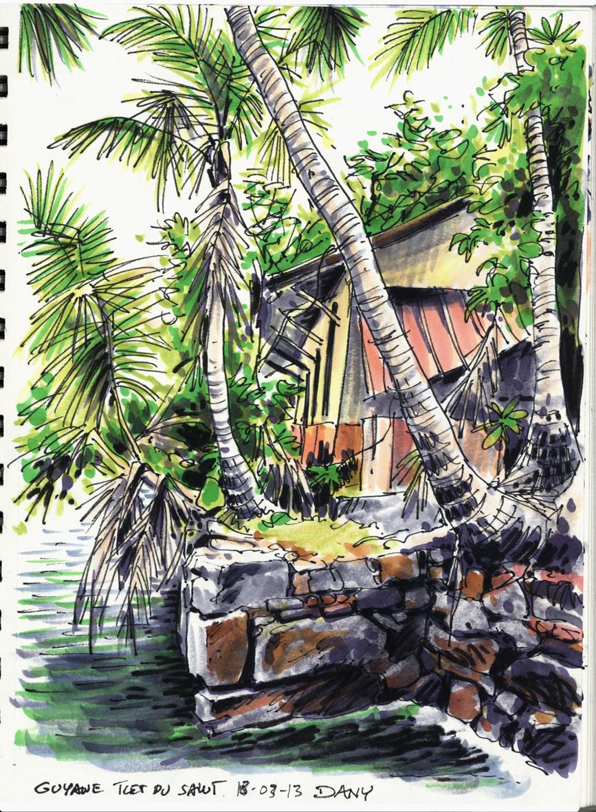 Dany - Carnet de voyage - Guyane