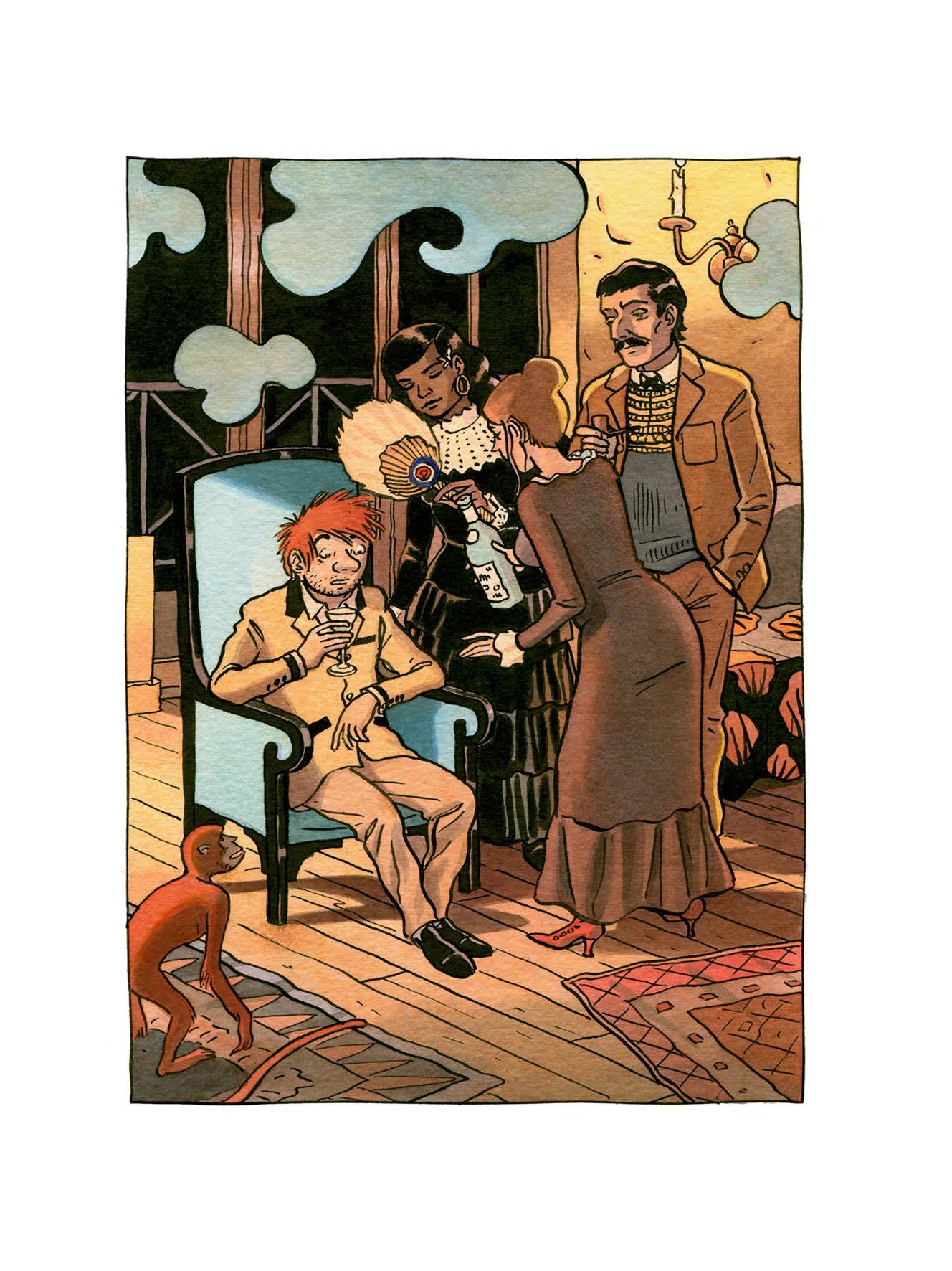 Jean-C. Denis - Luc Leroi - Galerie Oblique - chez Gauguin