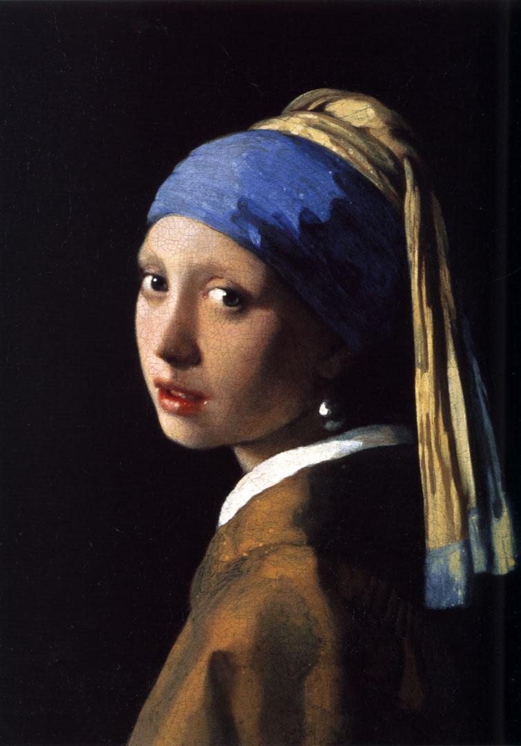 Johannes Vermeer - La Jeune fille a la perle
