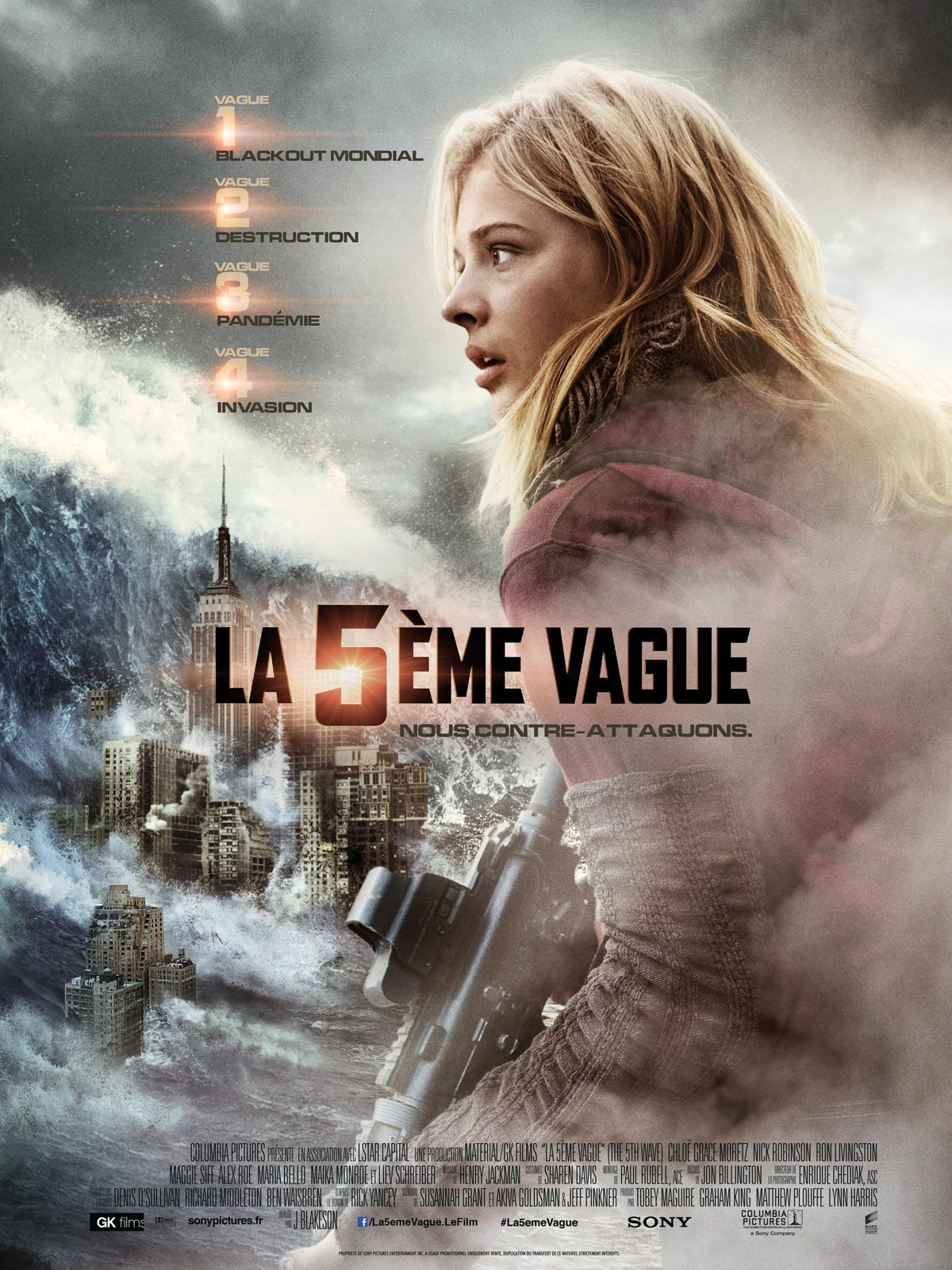 La cinquieme vague - affiche