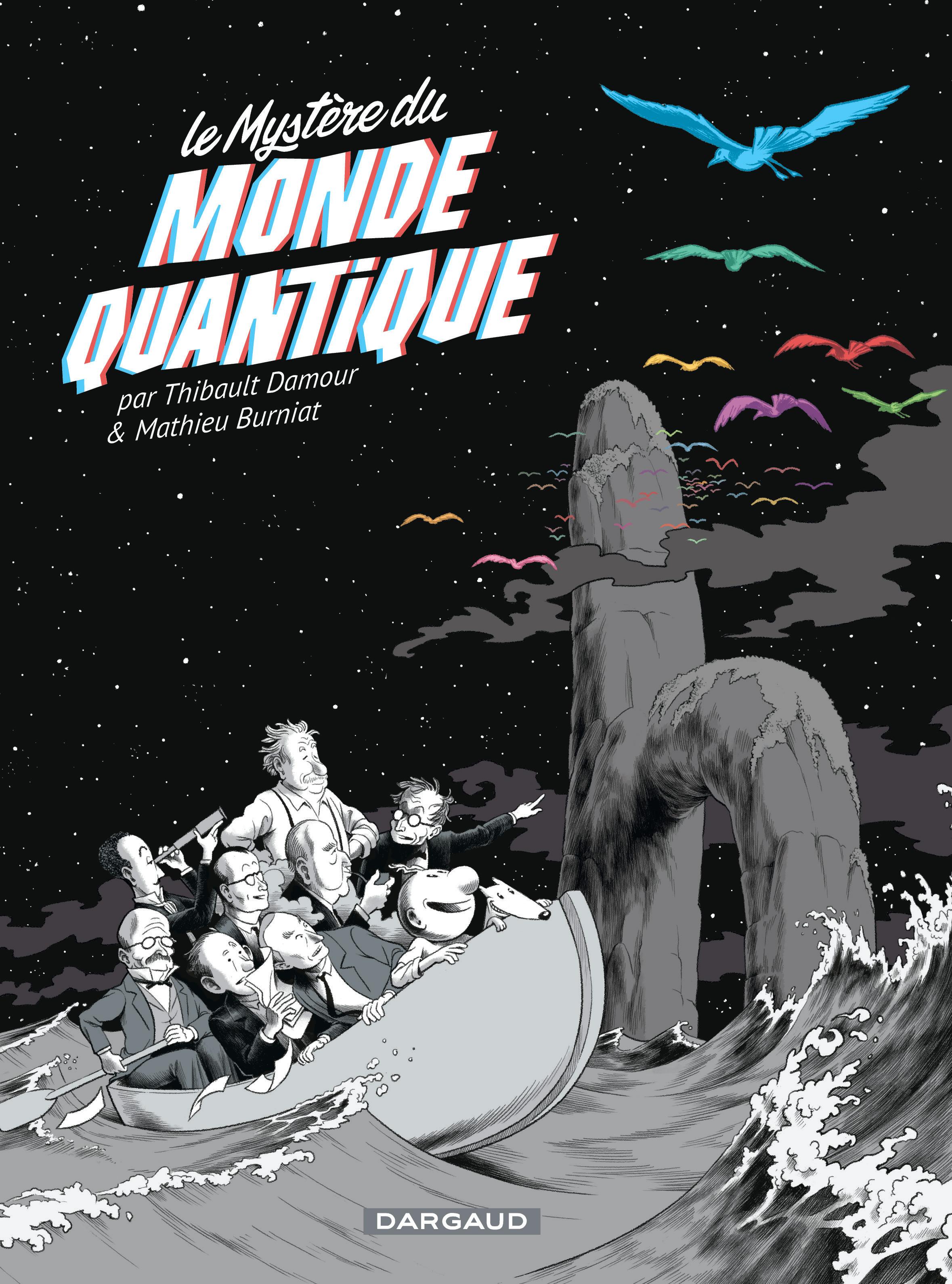 Le mystère du monde quantique - Damour - Burniat - Couverture