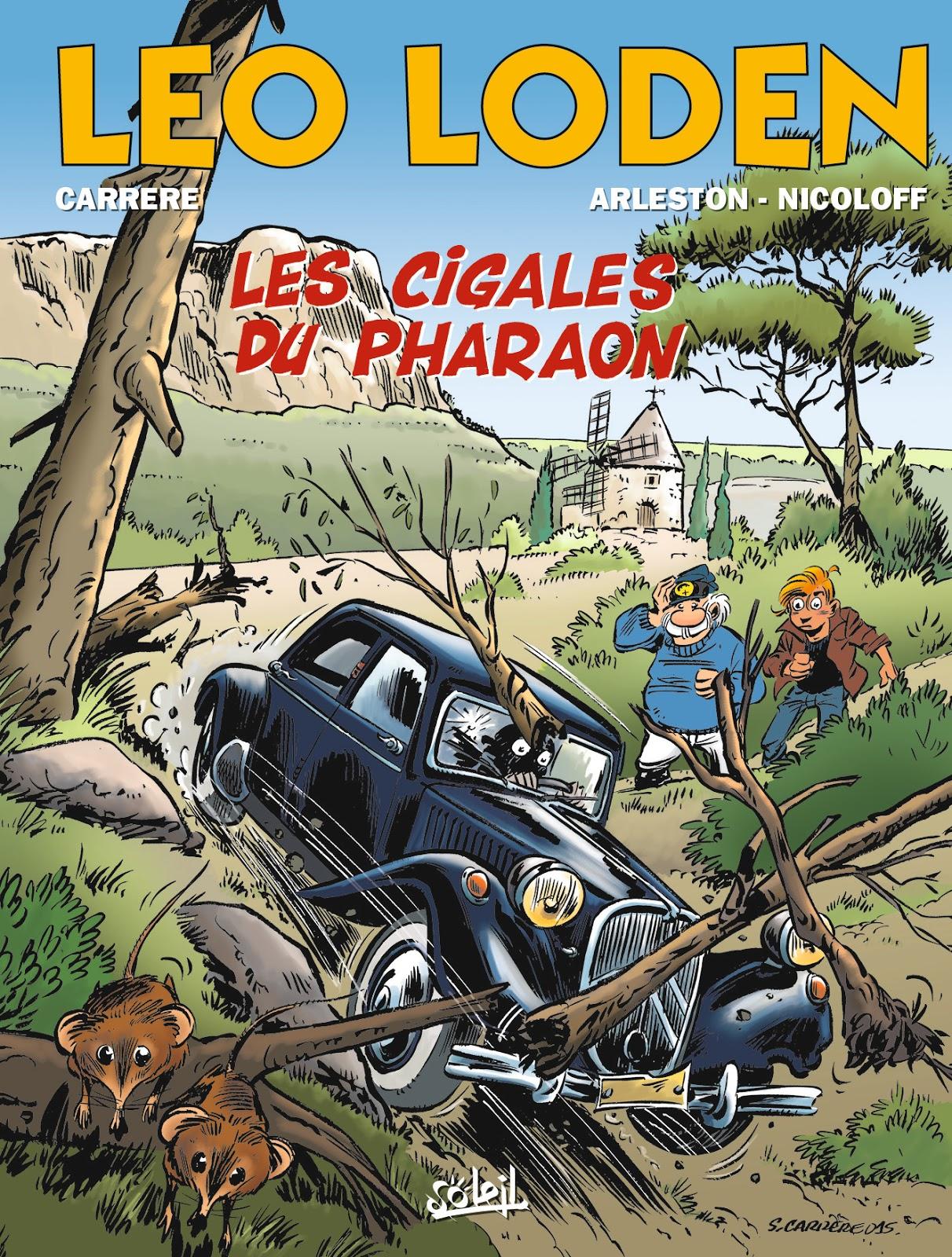 Leo Loden - t.24 - Cigales du Pharaon - Arleston - Nicoloff - Carrère - Couverture