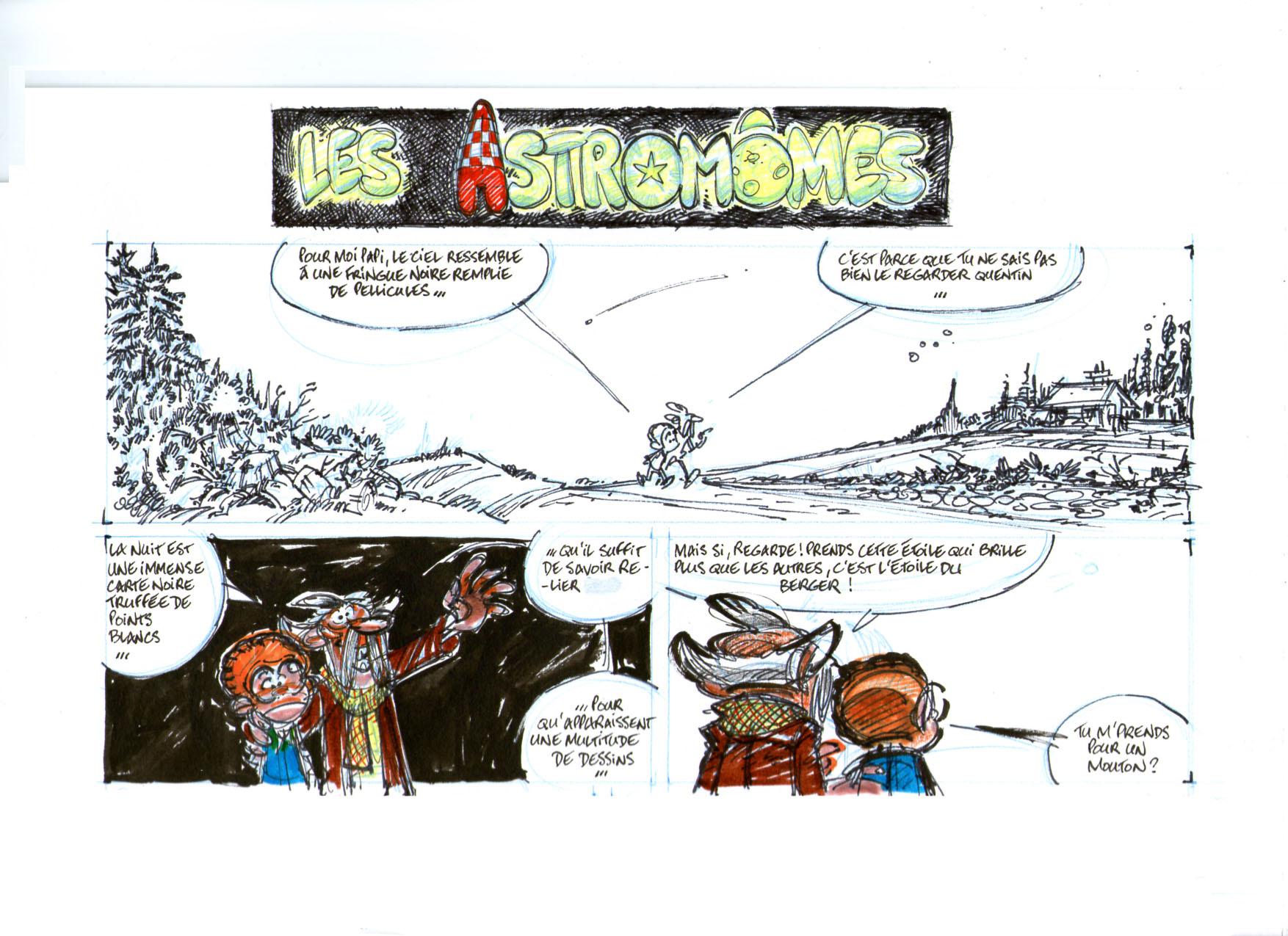Les Astromomes recherches page 01a