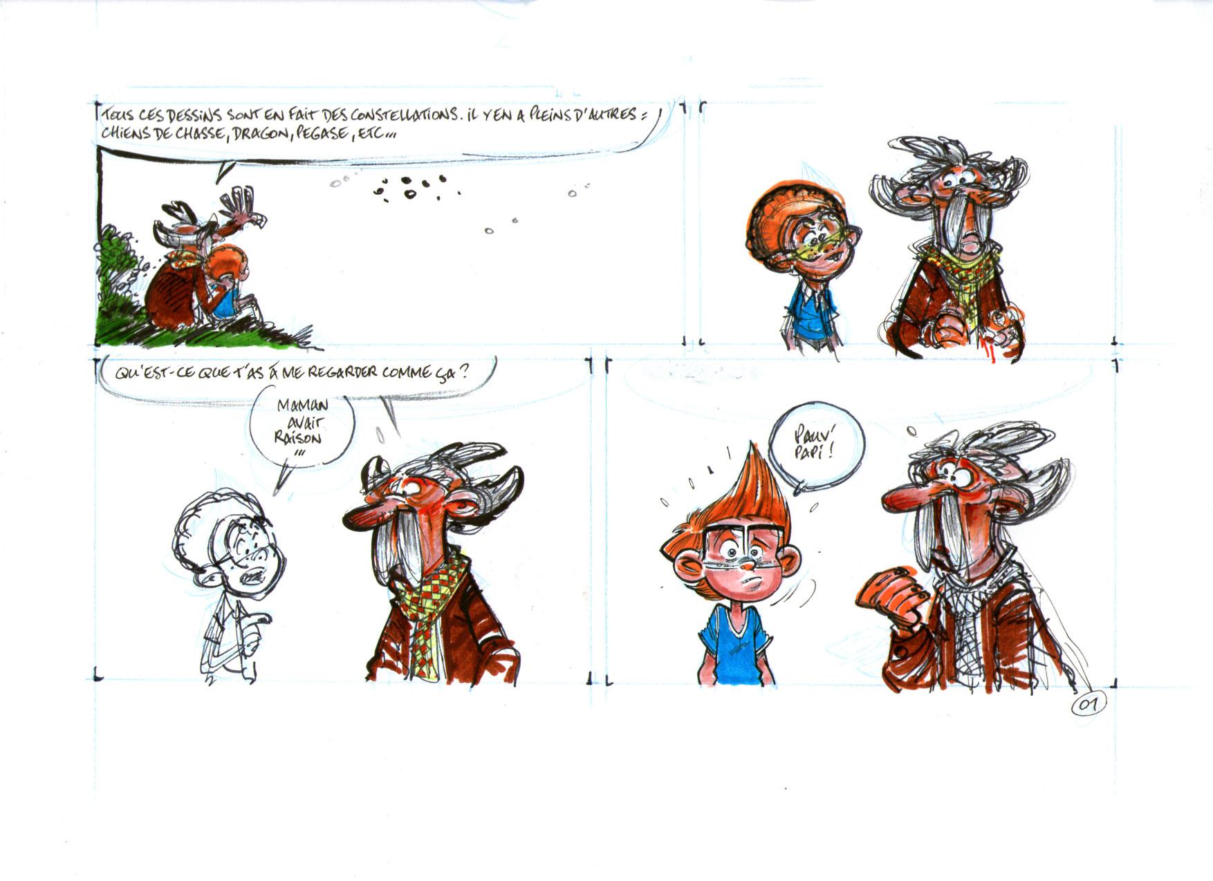 Les Astromomes recherches page 01b
