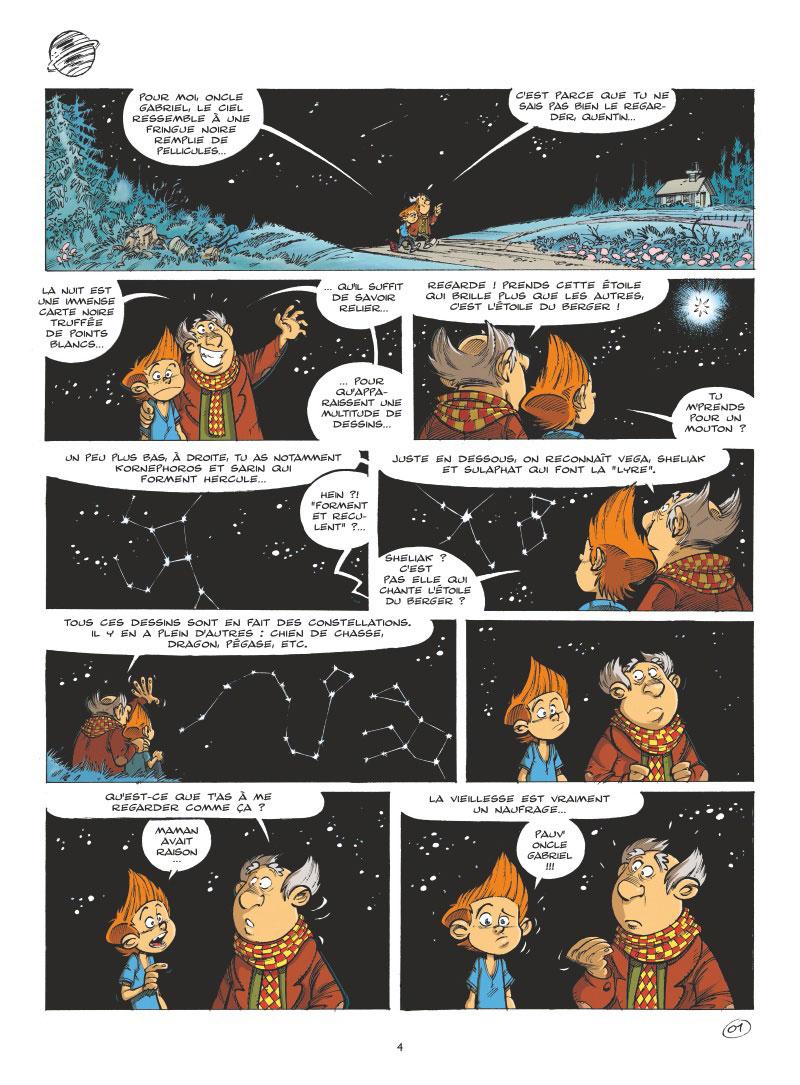 Les Astromomes - T1 - L'annee bulleuse - Derache - Ghorbani - Gao - Planche (2)