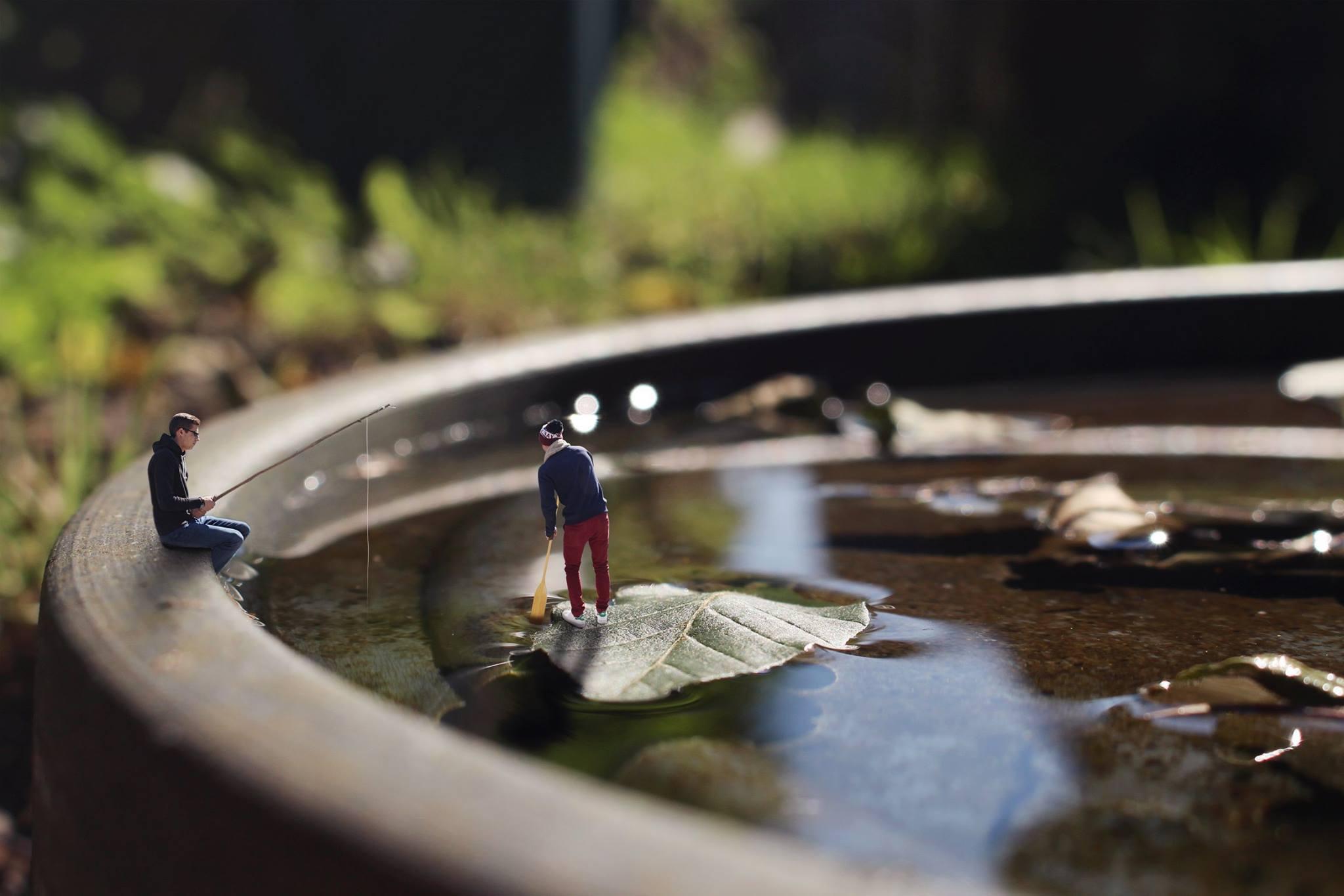 Les miniboys - navigation eau