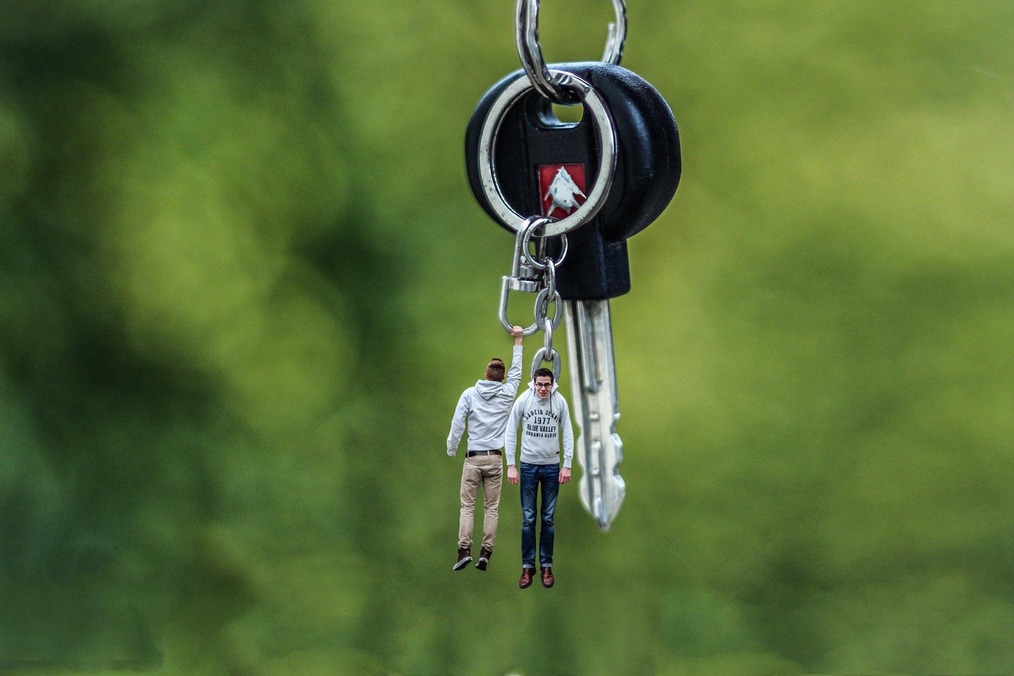 Les miniboys - porte-clef
