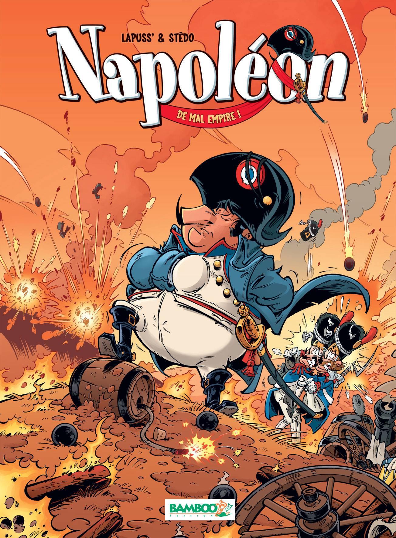 Napoleon - Lapuss' - Stedo - David Lunven - couverture