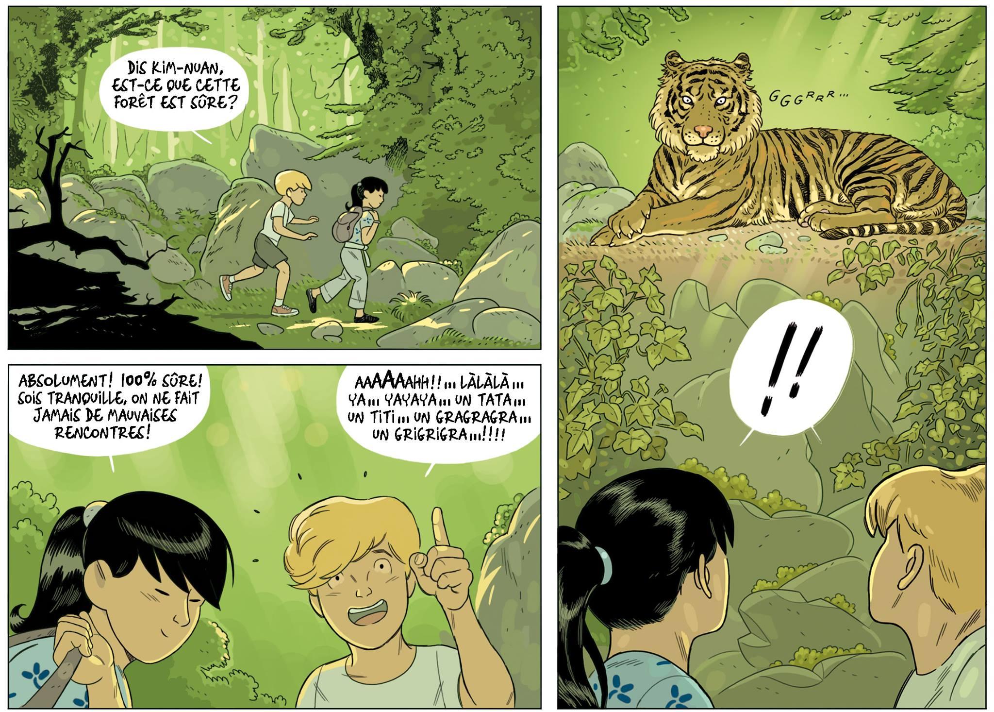 Raphael Drommelschlager - La craie des etoiles - Tigre