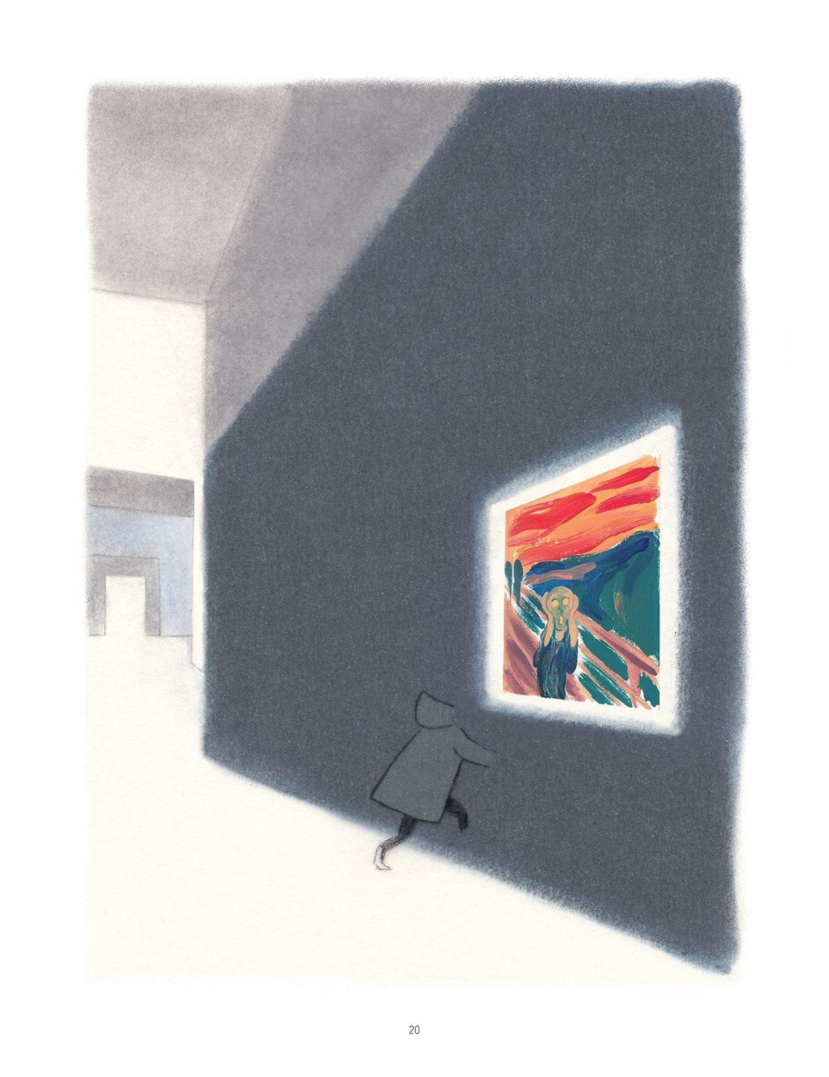 La legerete - Catherine Meurisse - Munch