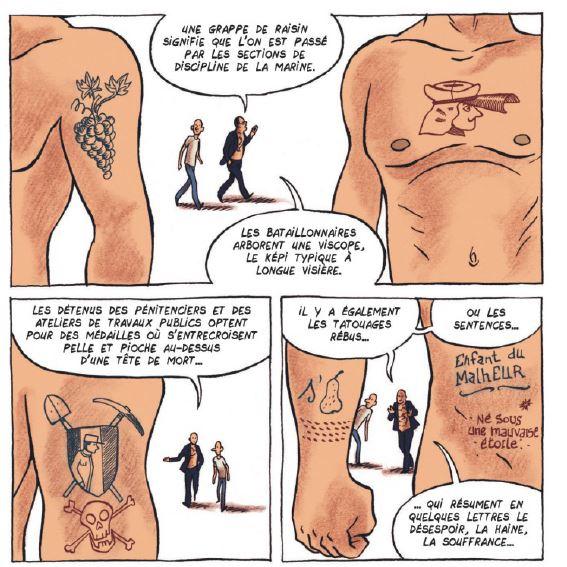 La petite bedetheque des savoirs - Le tatouage - Pierrat - Alfred - Signification