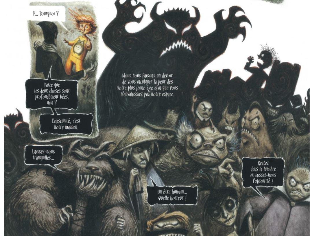 Le Coeur de l'ombre - d'Amico - Ioria - Ricci - Confrontation monstres