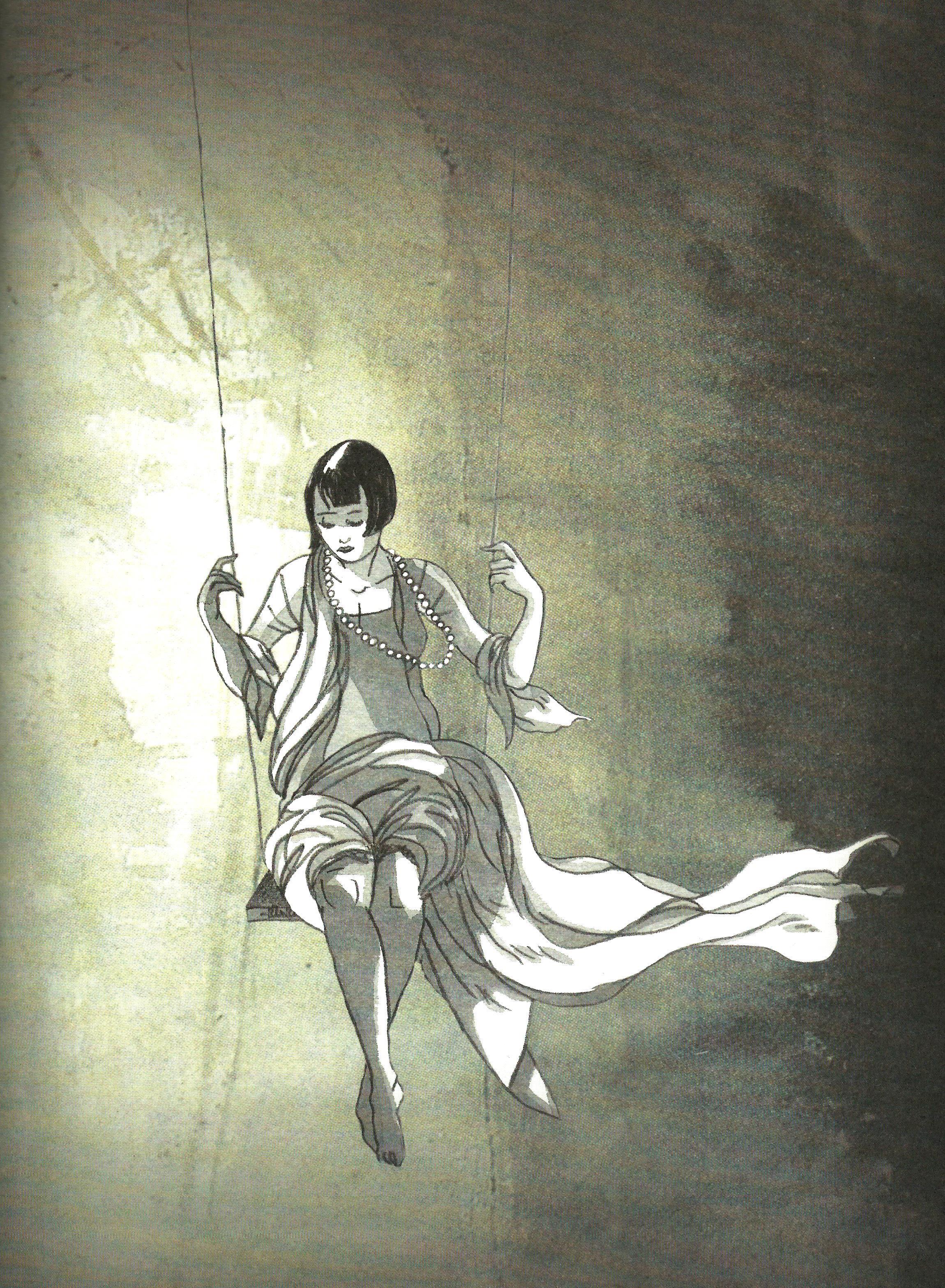 Louise - Le venin du serpent - Van Den Heuvel - Alessandra - Balancoire suspendue