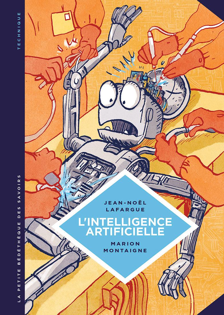 Petite Bedetheque des savoirs - Montaigne - Lafargue - Intelligence Artificielle - Couverture