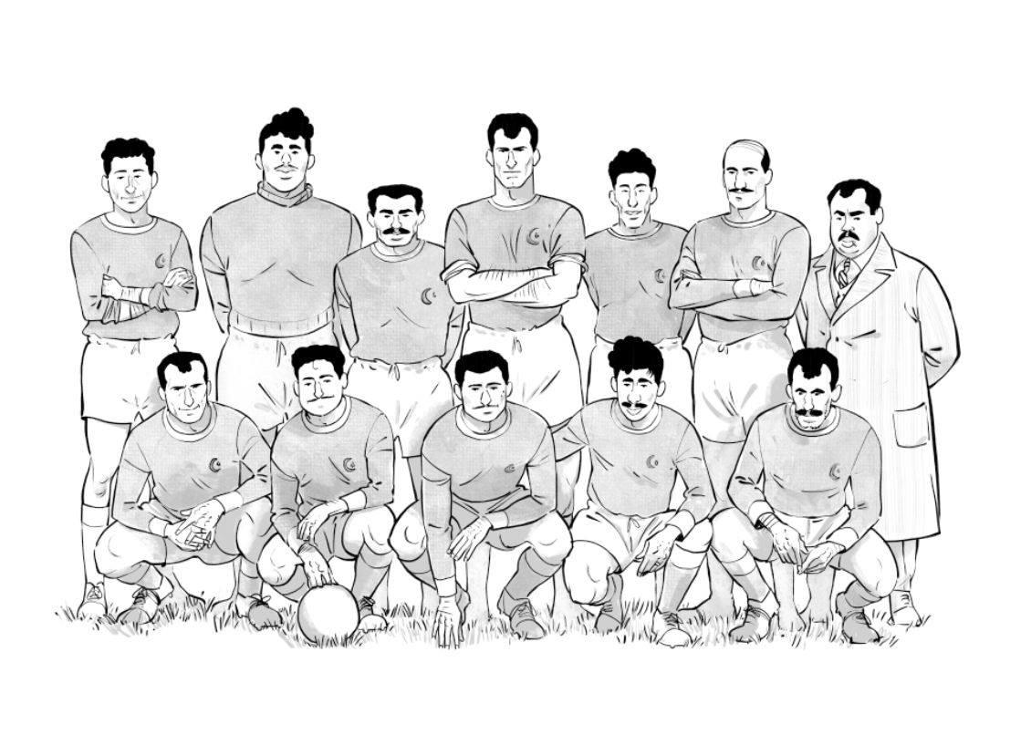 Un maillot pour l'Algérie - Galic - Kris - Rey - équipe